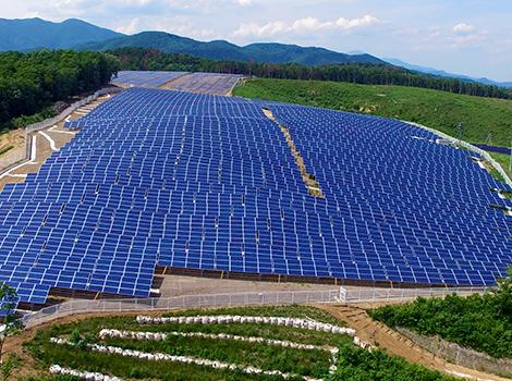 福島県 郡山逢瀬町MS太陽光発電所